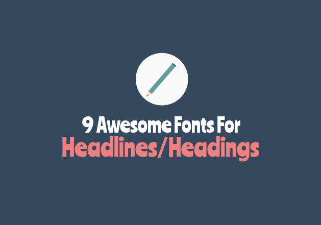 best Google web fonts for headings